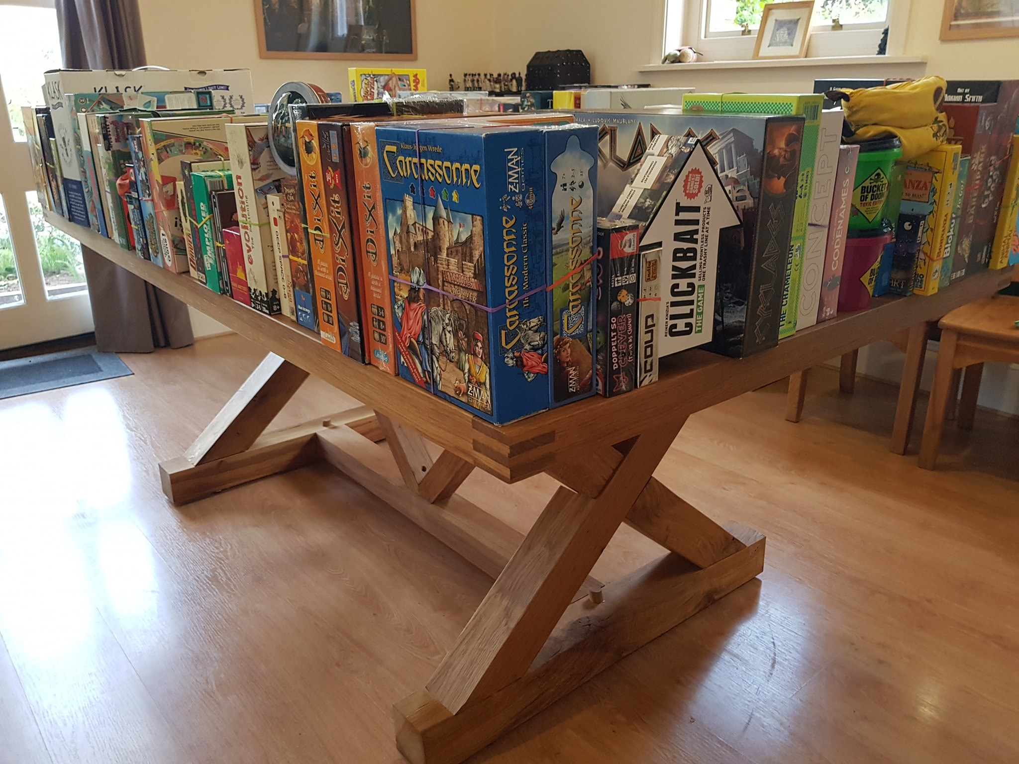Welcome to our board game library!