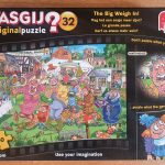 Wasgij Puzzle 32: The Big Weigh in