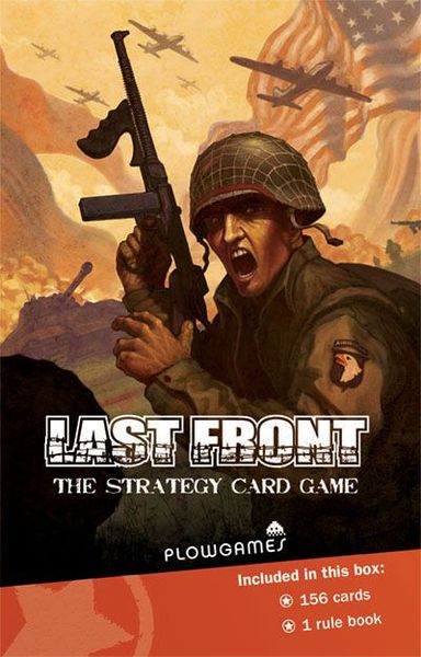 Last Front: The Strategy Card Game  (and Expansion)