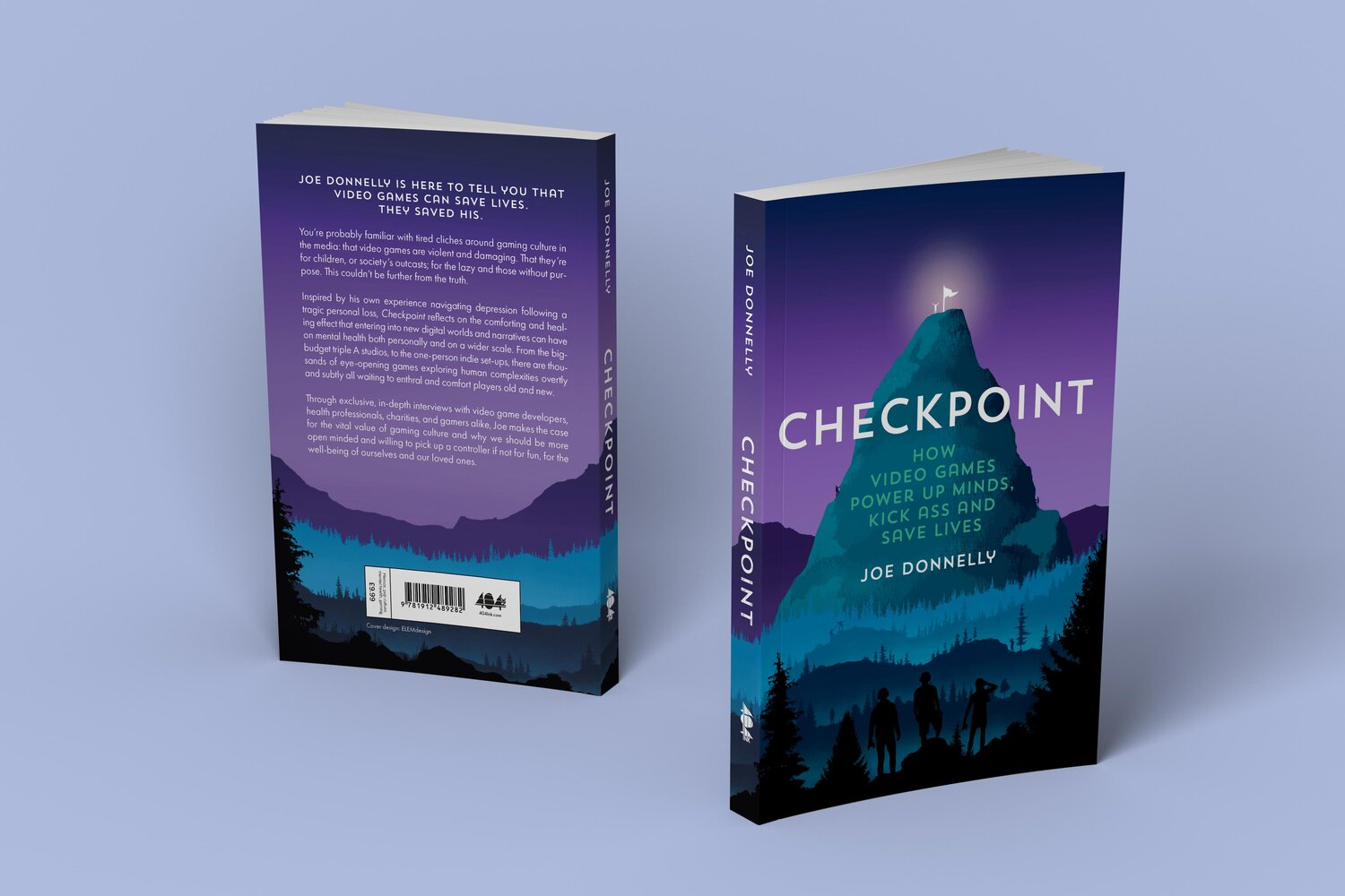 Checkpoint: Video game and mental health novel