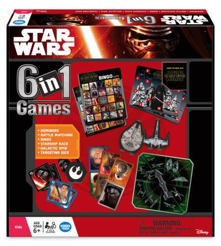 Star Wars 6 in 1 family game