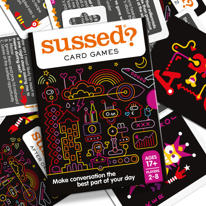Sussed Remastered:  Adult (Age 17 plus)