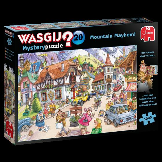 Wasgij puzzle 20: Mountain Mayhem