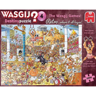 Wasgij puzzle 4: Where it all began