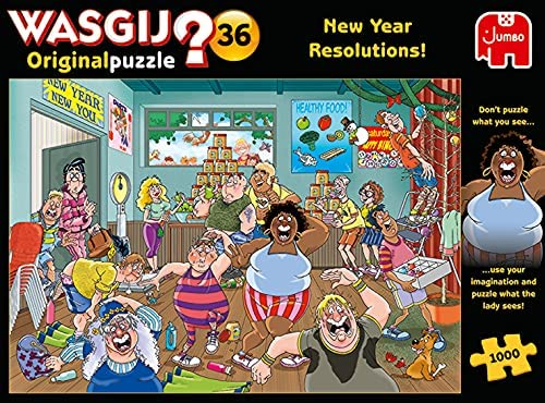Wasgij Puzzle 36: New Years resolution