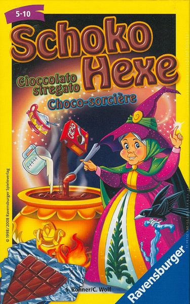 Scholo-Hexe (Chocolate Witch)