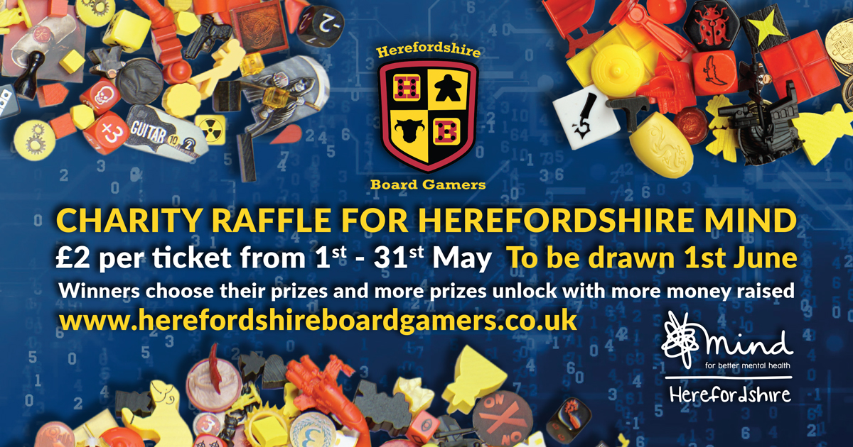 Raffle update: £2300 of prizes and £500 raised so far!